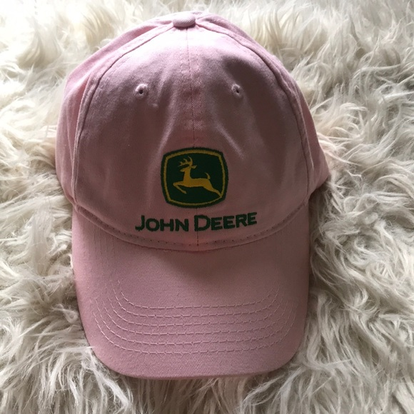 79c6c8e6 John Deere Accessories | Womens Pink I Baseball Hat Cap Love | Poshmark
